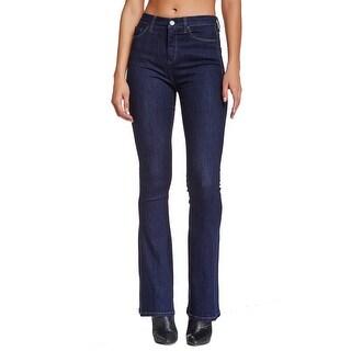 BlankNYC NEW Blue Dark Wash Women's Size 24X31 Boot Cut Denim Jeans