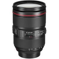 Canon EF 1380C002 24-105 mm Zoom Lens For DSLR Camera - Black (Refurbished)