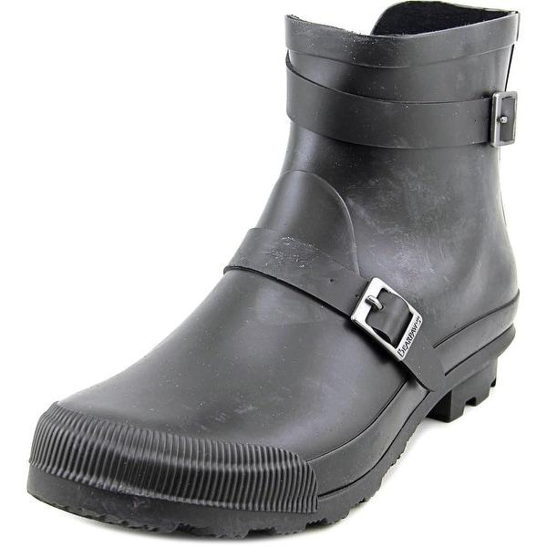 Bearpaw June Women Round Toe Synthetic Black Rain Boot
