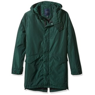 Nautica NEW Forest Green Mens Size Large L Full-Zip Windbreaker Coat