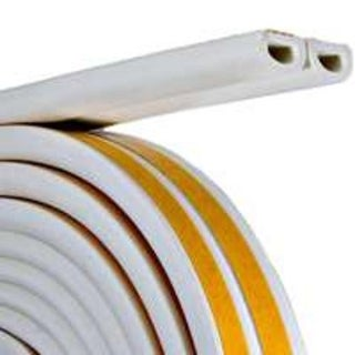 """Frost King V25WA Extreme Rubber Weather-Strip Tape 5/16"""" x 1/4"""" x 17', White"""
