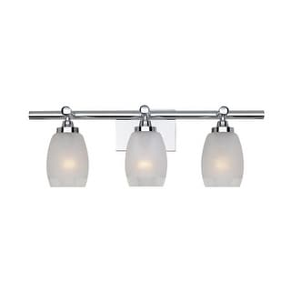 Designers Fountain 6453-CH 3 Light Bath Bar from the Astoria Collection