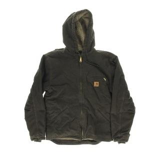 Carhartt Mens Sherpa Lined Hooded Coat - 3XL