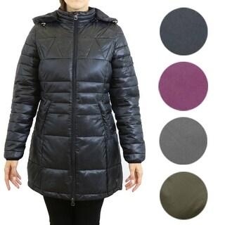 Women's Silhouette Style Puffer Jacket