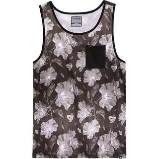 Hurley Mens Tank Top Knit Printed