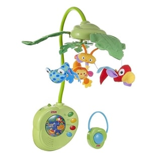 Fisher Price Rainforest Peek-a-Boo Leaves Musical Mobile Rainforest Peek A Boo Leaves Musical Mobile