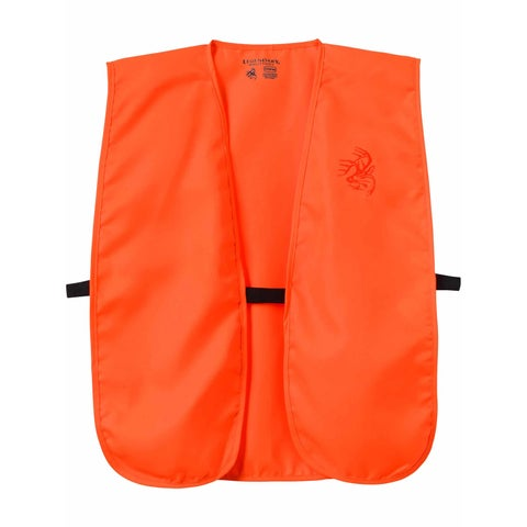 Legendary Whitetails Men's Lucky Hunting Vest Blaze Orange - One Size Fits most