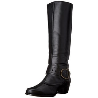 Walking Cradles Womens Clarity Leather Knee-High Riding Boots