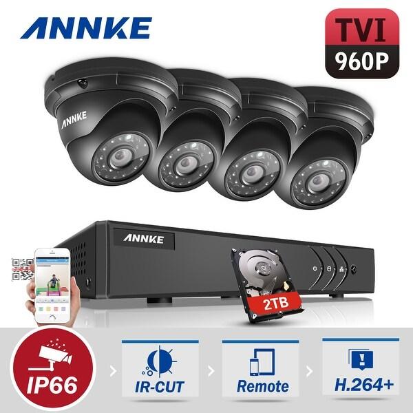 ANNKE 8CH 1080N DVR 960P Camera Video Cameras Surveillance System