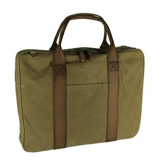 Dopp Mens Rugged Canvas Laptop Briefcase