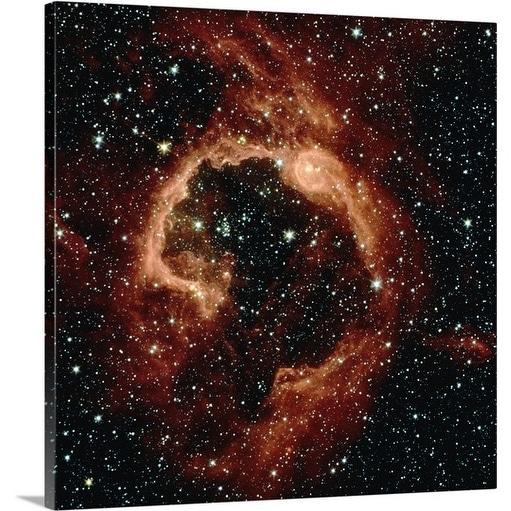 Premium Thick-Wrap Canvas entitled Centaurus star formation in Milky Way