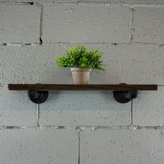"Link to Somerville Farmhouse Industrial 18"", 24"" & 30"" Wall Shelf Similar Items in Accent Pieces"