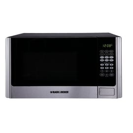Black & Decker EM925AME-P1 Microwave, 0.9 Cu.ft, Stainless steel/Black