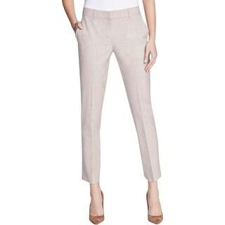 Theory Womens Testra 2B Dress Pants Wool Belt Loop