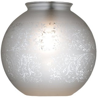 "Meyda Tiffany 114186 8"" W Globe Hand Blown Replacement Shade"