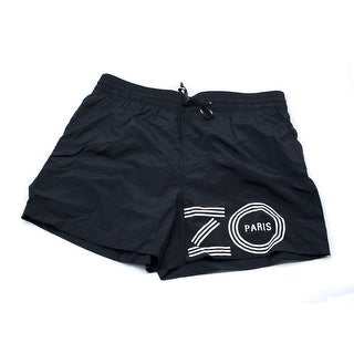 Kenzo Mens Black Bathing Suit Swim Shorts Size U.S. Medium EU Large - L