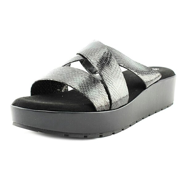 Kenneth Cole Reaction Calm-ing Black Sandals
