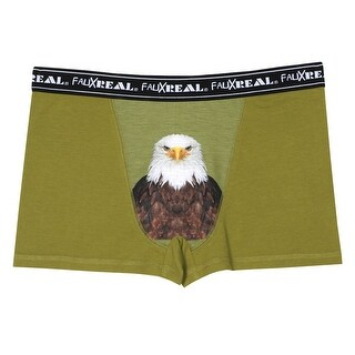 Men's Iconic Boxer Briefs - Eagle - Green (4 options available)
