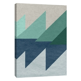 """PTM Images 9-108411  PTM Canvas Collection 10"""" x 8"""" - """"Linen Geometrics D"""" Giclee Patterns and Designs Art Print on Canvas"""