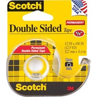 ".5""X450"" - Scotch Permanent Double-Sided Tape"