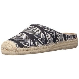 Dolce Vita Womens Tallia Canvas Printed Mules - 8 medium (b,m)