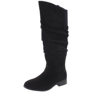 Steve Madden Girls Jordina Casual Boots Faux Suede - 3 medium (b,m)