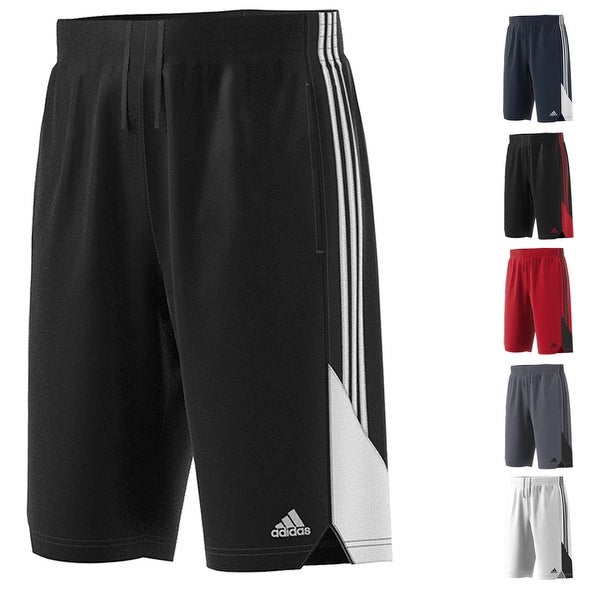 Adidas New Speed 100% Recycled Polyester Drawstring Basketball Shorts