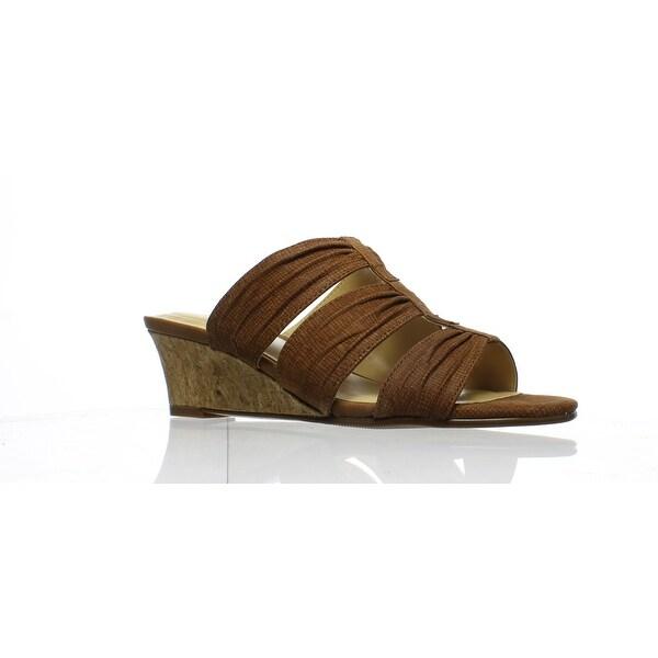 bbe21a3e24 Shop Trotters Womens Mia Cognac Sandals Size 6 - On Sale - Free ...