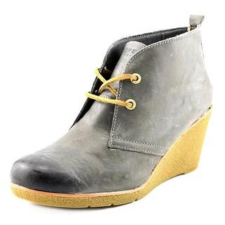 Sperry Top Sider Harlow Open Toe Leather Wedge Heel
