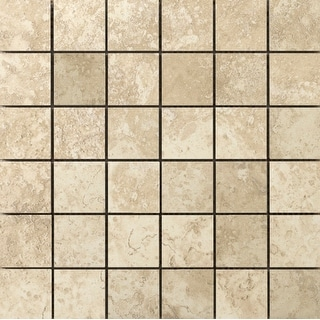 "Emser Tile F72LUCE-1313MO2  Lucerne - 2"" x 2"" Square Mosaic Floor and Wall Tile - Unpolished Stone Visual"