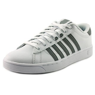 K-Swiss Hoke CMF Women  Round Toe Leather White Tennis Shoe