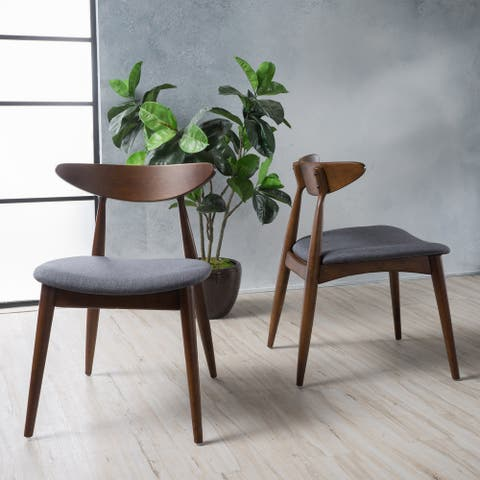Carson Carrington Lund Mid-century Modern Dining Chairs (Set of 2)