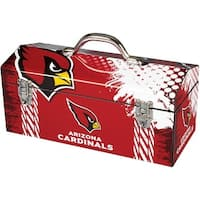 Sainty 79-301 Arizona Cardinals NFL Tool Box, 10""