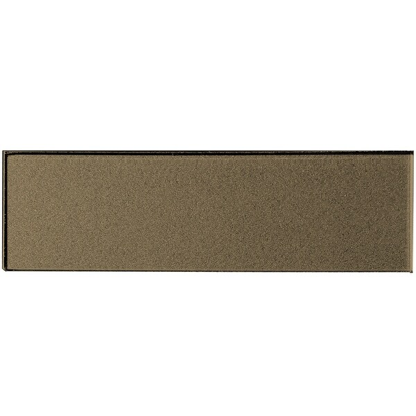 "Miseno MT-WHSFOG0416-BR Forever - 4"" x 16"" Rectangle Wall Tile - Glossy Visual - Bronze"
