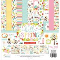"Hello Spring - Echo Park Collection Kit 12""X12"""