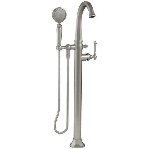 Kohler K T97332 4 Kelston Floor Mount Tub Filler With Hand Shower And