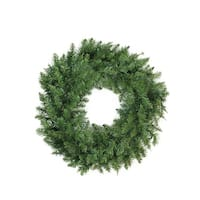 "24"" Buffalo Fir Artificial Christmas Wreath - Unlit - green"
