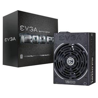Evga Supernova 1200 P2 80+ Platinum, 1200W Fully Modular Power Supply|https://ak1.ostkcdn.com/images/products/is/images/direct/9503809e04fe7490dc9a94b6f60f76cd51818e86/Evga-Supernova-1200-P2-80%2B-Platinum%2C-1200W-Fully-Modular-Power-Supply.jpg?impolicy=medium