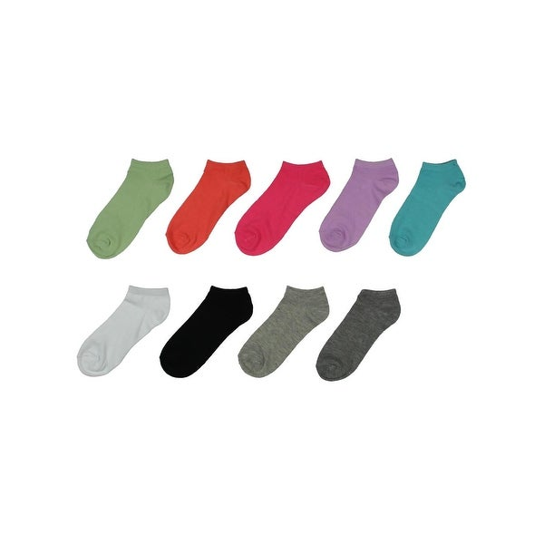 Nine West Womens Low-Cut Socks 9 Pack Fashion - 9-11