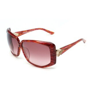 Missoni Women's Oversized Sunglasses Red/Orange - Clear - Small