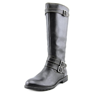Montana Gavyn Women Round Toe Leather Boot