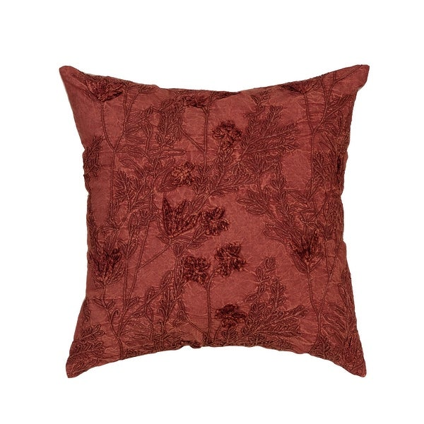 """Arden Selections Home 20"""" Throw Pillow - Rose Watercolor Floral. Opens flyout."""