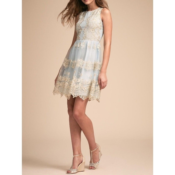 71eee4fb1c Shop Anthropologie BHLDN Flourish Dress - Free Shipping Today -  Overstock.com - 25850041