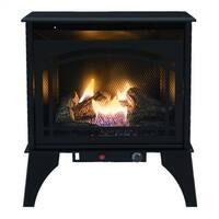 Kozy World GSD2210 Phoenix Vent-Free Gas Stove with Thermostat, 20000 BTU