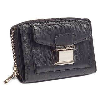 Moschino JC5549 0000 Black Zip Around Wallet