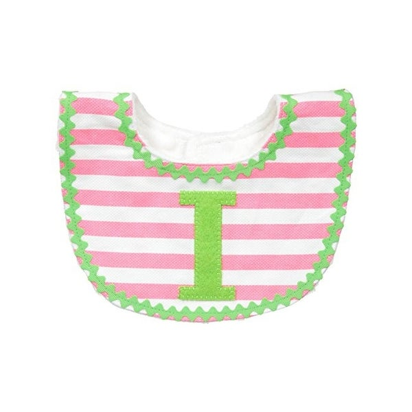 Mud Pie Baby Bibs Contrast Trim Infant Girls