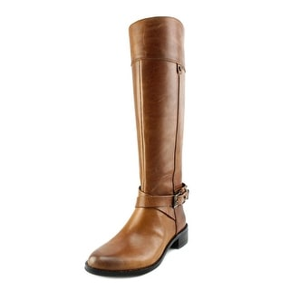 Vince Camuto Jaran Round Toe Leather Knee High Boot