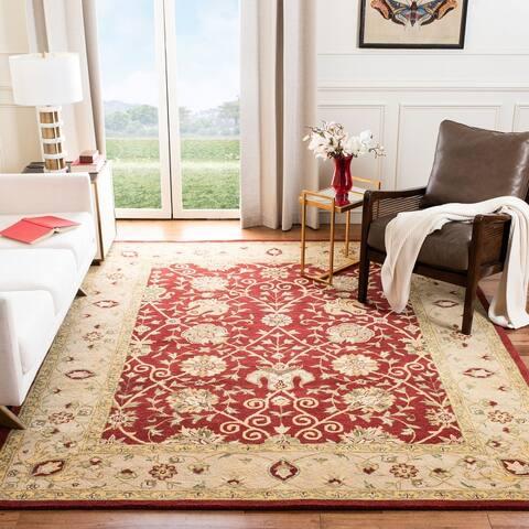 Safavieh Handmade Antiquity Mazie Traditional Oriental Wool Rug