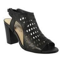 Sbicca Womens Lightning Black Ankle Strap Sandals Size 8