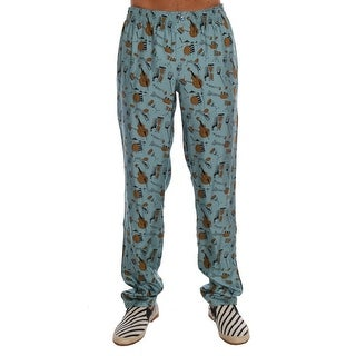 Dolce & Gabbana Dolce & Gabbana Blue Music Print Pajama Pants - it50-l